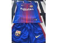 Barcelona kit 3-4 Years