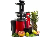 Andrew James Red Professional Masticating Slow Juicer