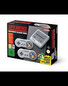 NINTENDO SNES Super Nintendo Mini - BRAND NEW!