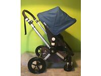 Stunning Royal Blue( Cam3 Fabrics) Bugaboo Cameleon 2 with accessories in VGC