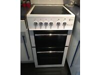 FLAVEL E50 White Silver Freestanding electric cooker