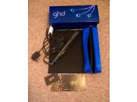 New GHD straighteners ~ peacock limited edition with original box, ghd bag and heat mat *Xmas gift*