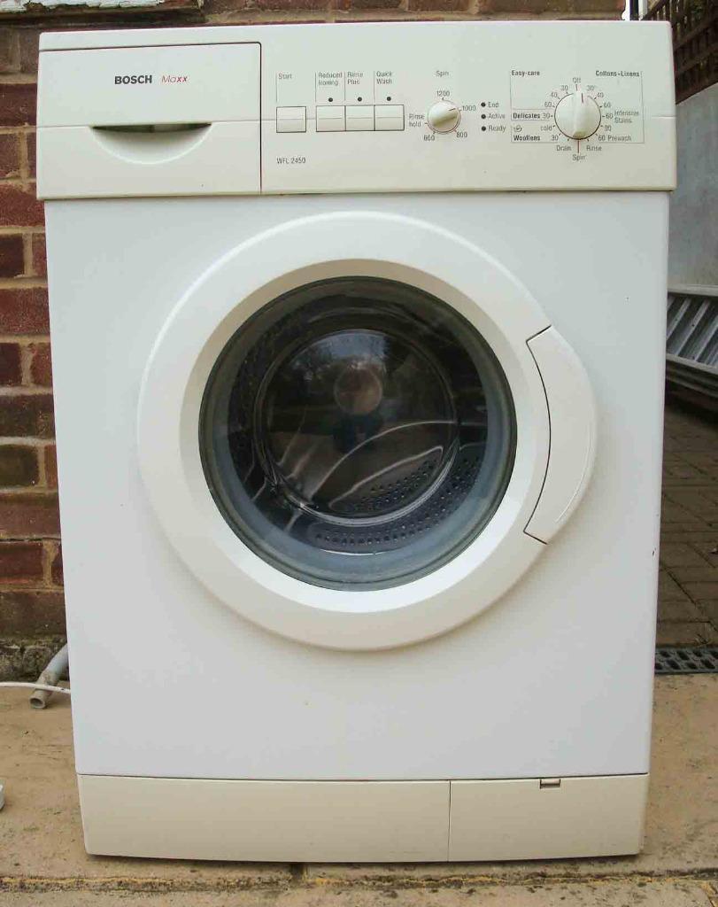 washing machine repair bosch