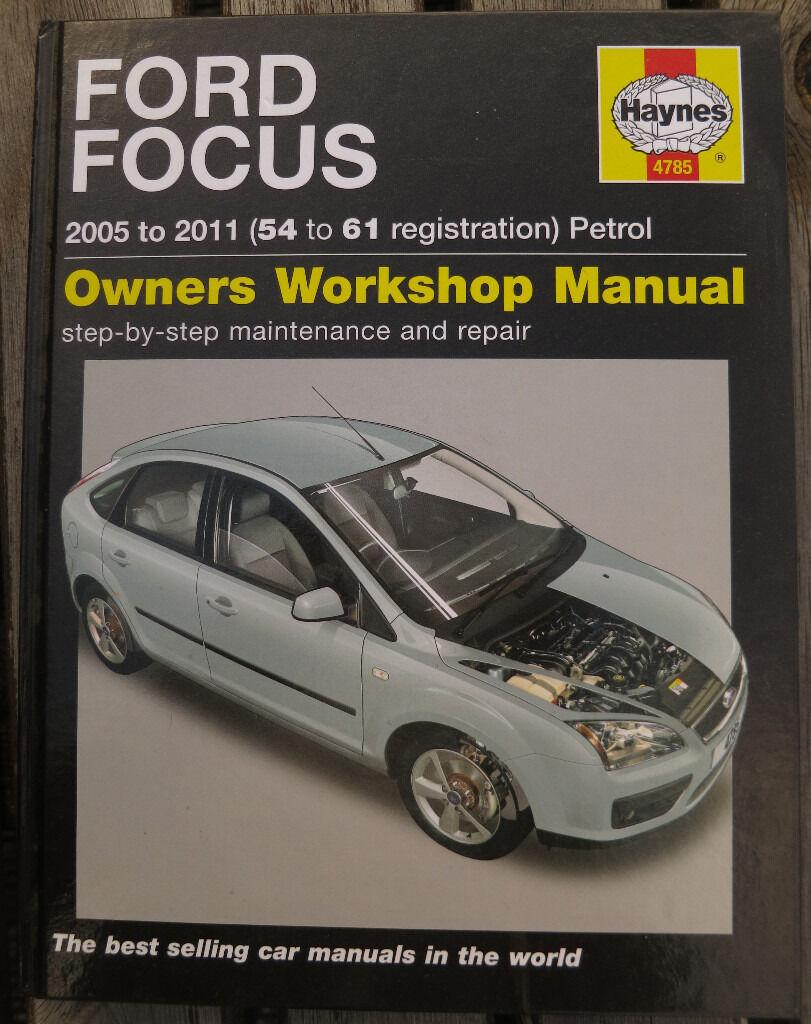 Ford Focus 2005-2011 Haynes owners workdshop manual