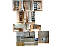 house clearance display cabinet, bed wardrobe, bookcase, shoe case etc