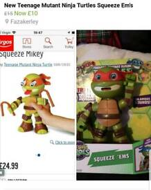 Brand new TMNT squeeze EMS