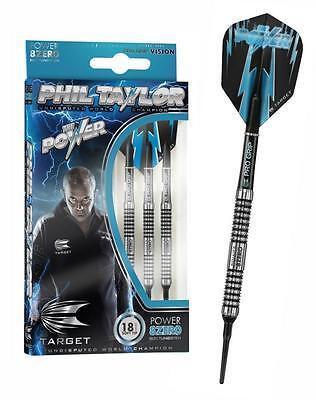 Target Darts Phil Taylor Power 8Zero 80% Dart Dartpfeile + Zub.Softdarts 18g.