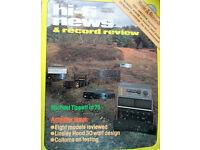 HI-FI NEWS 1980 QUAD 44/405 ROGERS A100 EXPOSURE III/1V MK2 NAD 3020 FIRST TESTS