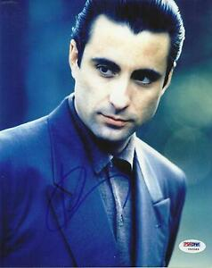 ANDY GARCIA AUTOGRAPHED 8X10 PHOTO