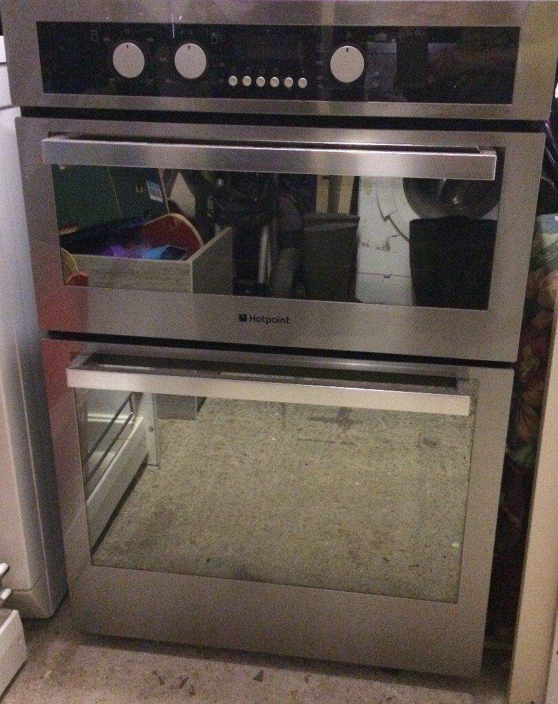Hotpoint Integrated Double Oven In Abingdon Oxfordshire