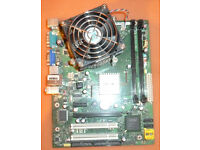 PC Parts, PSU, DVD Drive, Motherboard, RAM