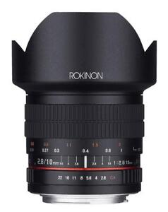 Rokinon 10MAF-N 10mm F2.8 ED AS NCS CS Ultra Wide Angle Lens for Nikon Digital SLR Cameras with AE Chip for Auto Meterin