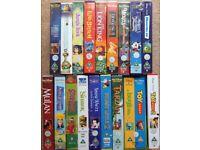 VHS Bundle - Walt Disney Classics and Children's Favourites [19 VHS videos]