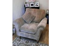 Parker Knoll Burghley 3 Seater Sofa and Armchair
