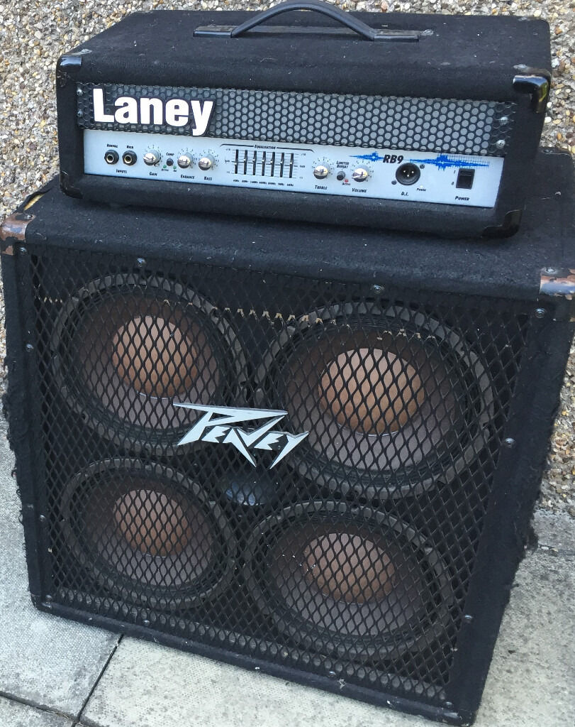 Laney RB9 Bass Head and Peavey 410 TX Bass Cab | in Tullibody ...