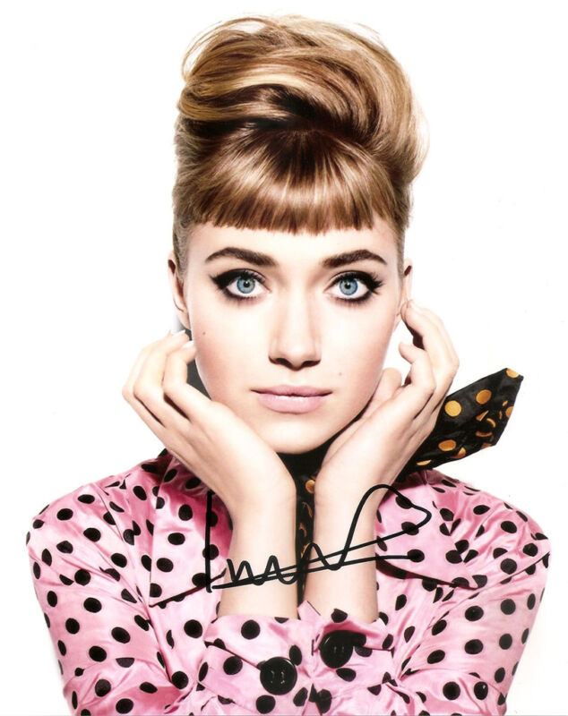 IMOGEN POOTS GENUINE AUTHENTIC SIGNED 10X8 PHOTO AFTAL & UACC [11928] PROOF