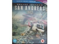 San Andreas 3D Blu-Ray £6 - Good Condition