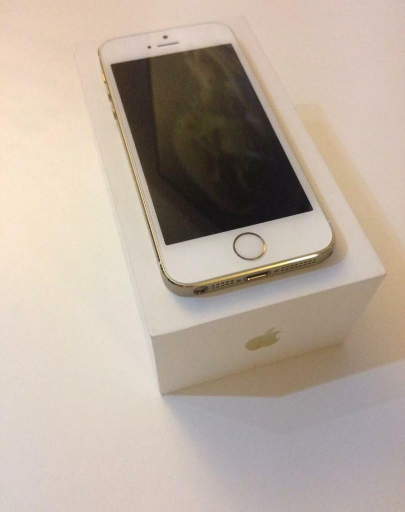 Iphone 5S Gold Newin Portsmouth, HampshireGumtree - Beautiful iPhone 5S immaculate condition goldUnlocked to any networkNo dents on sides or screen, phone is amazing condition just like taken out of the boxBrand new fully working , no problems at all Clean iCloud and IMEI Fast and cheap sell