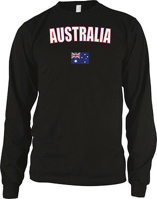 Australia Country Pride Land Down Under Outback Desert Long Sleeve Thermal