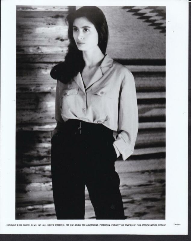 beautiful Charlotte Lewis portrait closeup Tripwire 1990 movie photo 35054