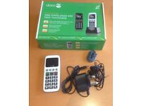 Mobile Phone. Big Buttons. White. Doro PhoneEasy 338gsm.