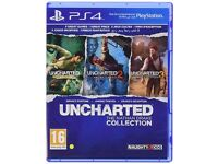 PS4 Uncharted 1,2 & 3 Remastered. unopened, brand new.