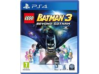 LEGO Batman 3: Beyond Gotham / ps4 game / for sale or swaps