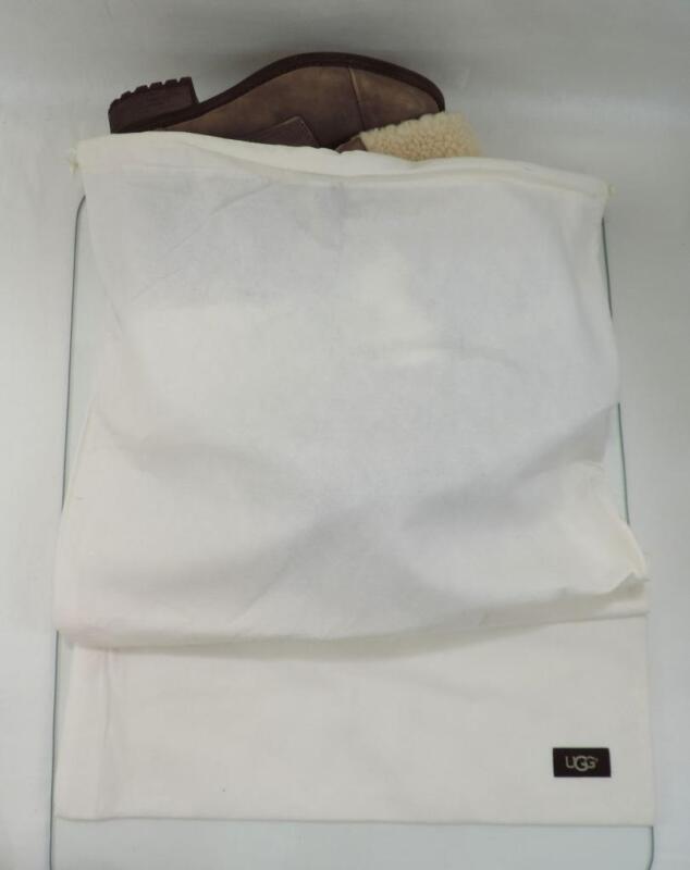 "UGG Shoe Bags Drawstring bags Designer Travel Shoe Bags Cream 26"" X 17"""