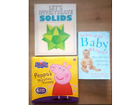 BOOK BUNDLE - Secrets of the Baby Whisperer, Peppa's Storytime Treasury, Let's Investigate Solids