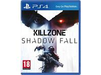 KILLZONE SHADOW FALL PS4 GAME FOR SALE