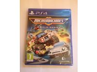 [New/Sealed] Micro Machines World Series PS4