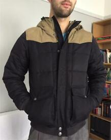 Levis padded jacket navy size small