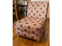 DFS Arm Chair Sofa Lounge Comfy Grey Green Red Floral Great Quality