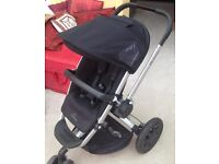 Quinny Buzz Stroller / Pushchair & Maxi-cosi Cabrio Fix car seat