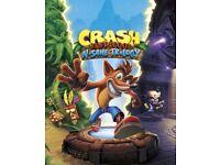 Crash bandicoot new sealed PS4