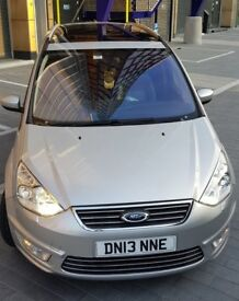 Ford Galaxy 2.0 AUTO DIESEL, TITANIUM X, PAN ROOF, 1 OWNER, REV CAMERA, FUL LEATHER, MILAGE-64,000