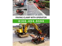 Paving Clamp with Operator