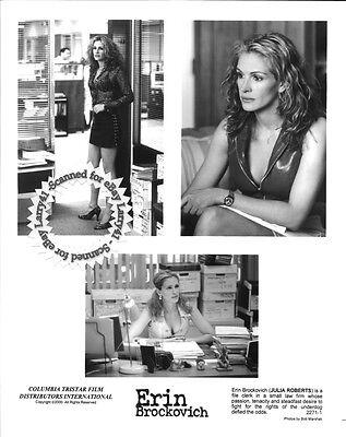 Lot of 5, Julia Roberts, Albert Finney stills ERIN BROCKOVICH (2003) Soderbergh