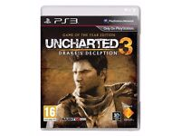PS3 UNCHARTERED 3 DRAKE'S DECEPTION