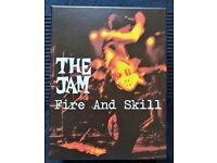 The Jam: Fire & Skill - Deluxe Box Set. Incl. 6 CDs, 5 prints & book. MINT CONDITION