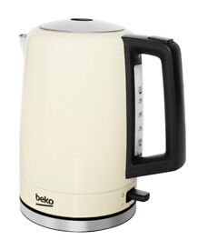 Beko Traditional Victory Kettle 1.7L Capacity Cream WKM7306C NEW