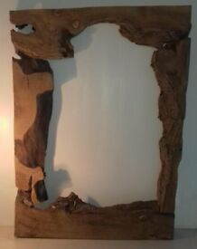 Timber Oak Mirror Frame