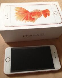 iPhone 6s Rose Gold, Unlocked, Boxed