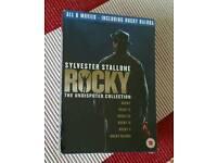 Sylvester Stallone Rocky DVD Box set
