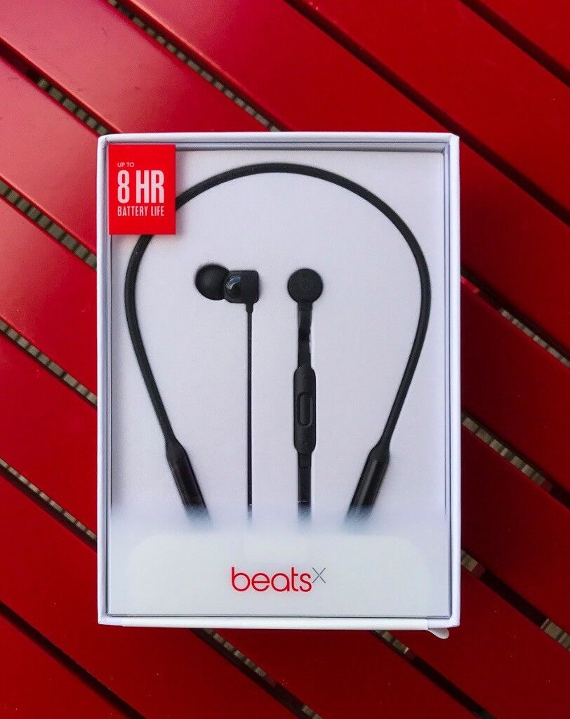 Brand New - Beats X by Dr. Dre BeatsX Wireless Headphones - Black