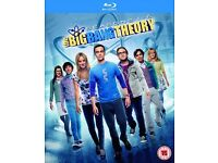 The Big Bang Theory Seasons 1 - 6 Box Set DVDs - (NEW UNOPENED - STILL SEALED)