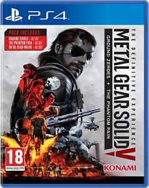 Metal Gear Solid V: The Definitive Experience (PS4) (New)