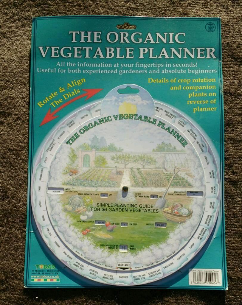 ORGANIC VEGETABLE PLANNER(nr4)