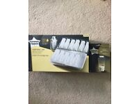 Tommee Tippee Storage Case and 36 pre-sterilized bags. NEVER USED