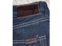 "Sean John Garvey Loose Fit Blue Jeans - 34"" Waist 32"" Leg"
